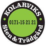 Kolarviks Sten och Trädgårds logotyp